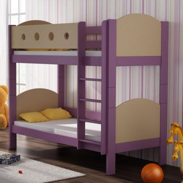 Solidly made bunk beds